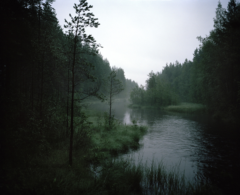 Early evening by the Älvdalen river.